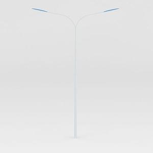 雙頭路燈模型