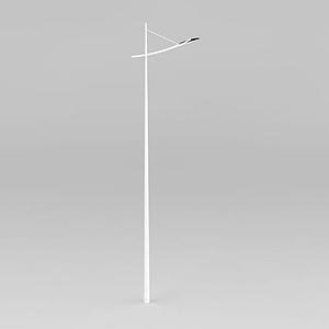 單臂道路燈模型