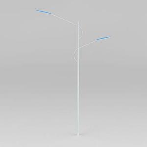 雙耳弧形燈模型