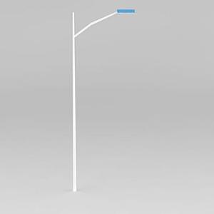 單頭路燈模型