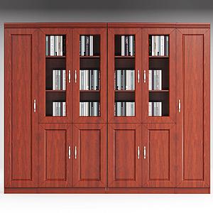 辦公書柜模型