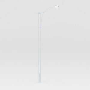 自彎臂路燈模型
