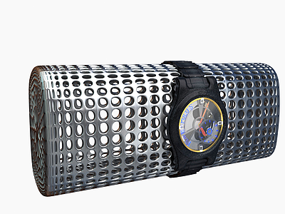男士機械手表模型3d模型
