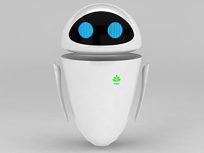 3d機器人總動員女主角模型