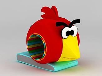 兒童游樂設施憤怒的小鳥模型