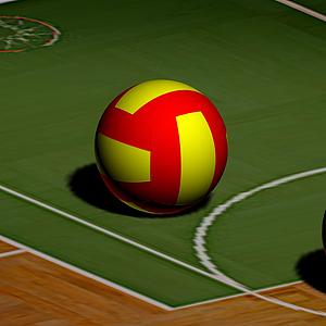 體育(球類)模型