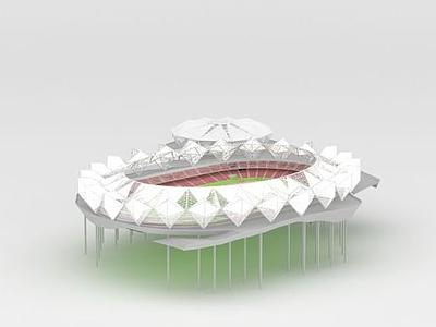 3d體育場模型