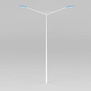 雙頭直路燈模型