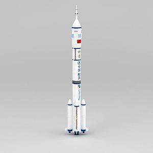 長征2F火箭模型