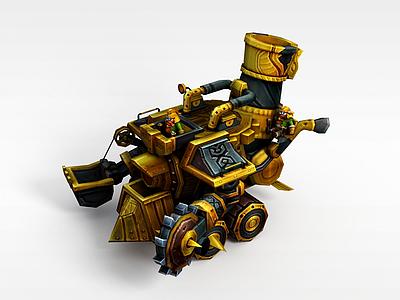 3d召喚師聯盟游戲道具模型