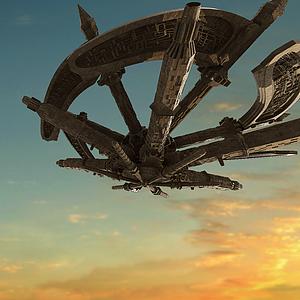航空戰艦模型