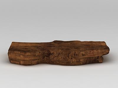 沉香木模型3d模型