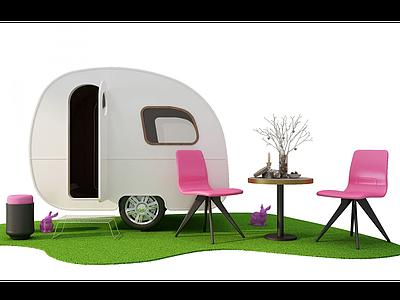房車模型3d模型