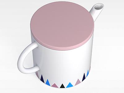 3d時尚精美陶瓷杯<font class='myIsRed'>馬克杯</font>模型