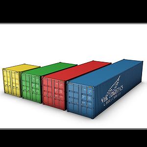 集裝箱模型