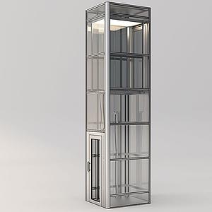 電梯間模型