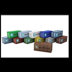 集装箱模型