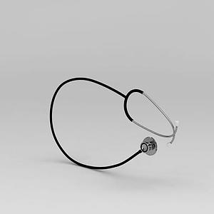 醫療聽筒模型