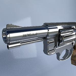 左輪手槍模型