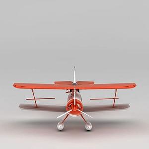 雙翼螺旋槳飛機模型