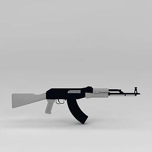 軍用器材槍模型