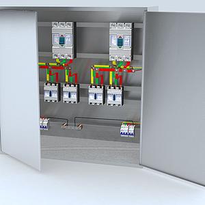 配電柜模型