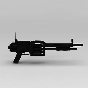 霰彈槍模型