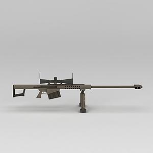 巴雷特狙擊槍模型