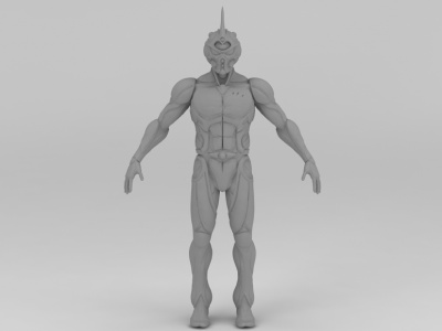 3d動漫游戲強殖裝甲Guyver模型
