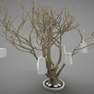 3d樹木模型