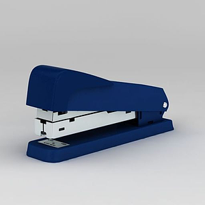 藍色訂書機模型