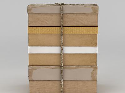 3d包裝盒免費模型