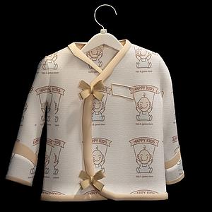 寶寶衣服模型