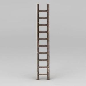 木梯子模型