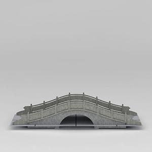 3d石拱橋模型