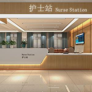 医院护士站模型