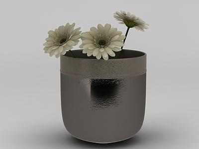 現代裝飾插花模型3d模型