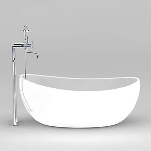 元寶浴缸模型