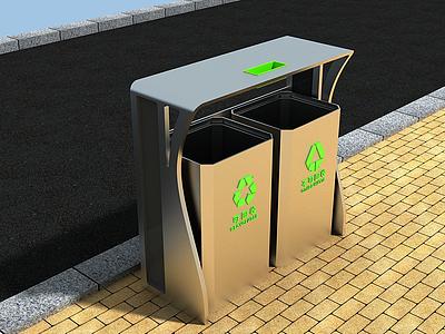 3d戶外公共設施模型