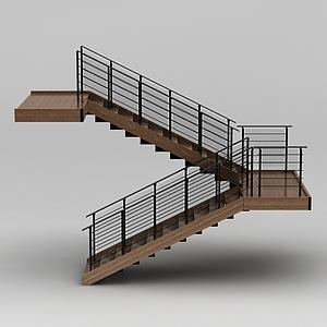 教學樓旋轉樓梯模型