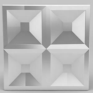 3d方形不銹剛門<font class='myIsRed'>把手</font>模型