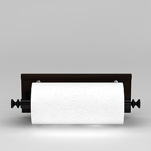 廚房紙巾架模型