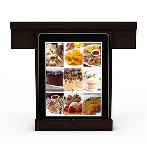 平板電腦點菜機模型