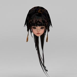 劍網三女子發型模型