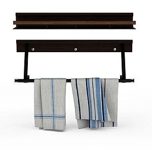 毛巾架模型
