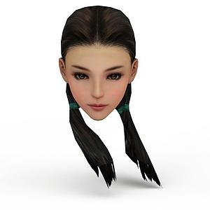 劍網三女發型模型