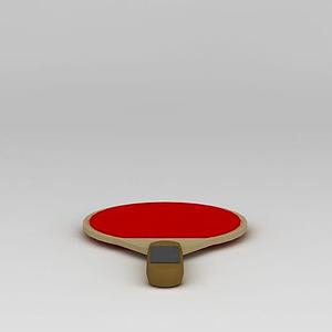 乒乓球拍模型