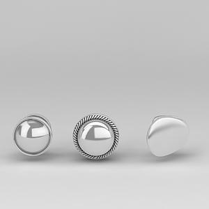 3d不銹剛鈕扣式門<font class='myIsRed'>把手</font>模型