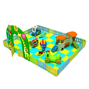 兒童小滑梯模型