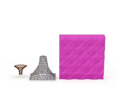 3d異形建筑模型免費模型
